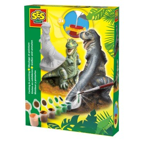 SES Creative ģipša komplekts dinozaurs T-Rex