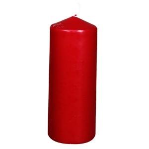 Svece-cilindrs 6x15cm bordo