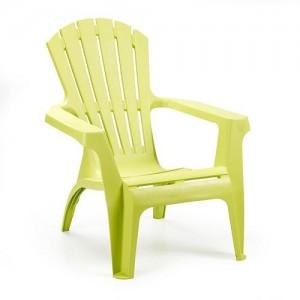 Krēsls plastmasas Dolomati zaļš