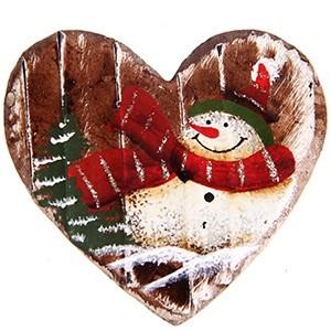 Magnēts Ziemassvētku sirds