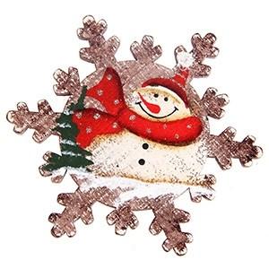 Magnēts Ziemassvētku sniegpārsla