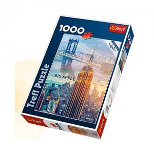 TREFL Puzle New York, 1000 gb.