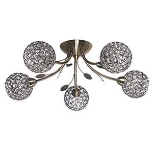Griestu Lampa BELLIS II 5x33W