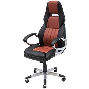 Biroja krēsls NEVADA brūns/melns