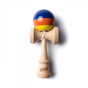 Kendama Sweets Prime - Stripes - Blue/Orange/Yellow
