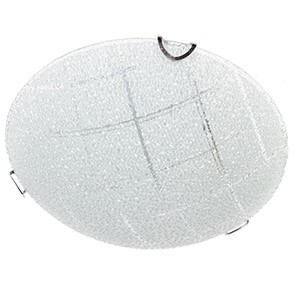 Plafonlampa-TOMASS 40W E27 hroma