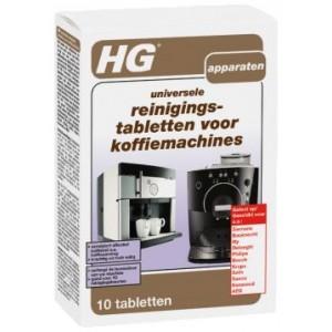 HG universālas tabletes kafijas mašīnas tīrīšanai