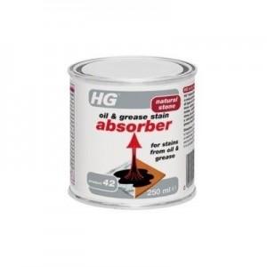 HG eļļas & tauku traipu absorbētājs 0.25L
