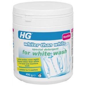 HG baltās veļas mazgāšanas līdzekis baltāks par ba