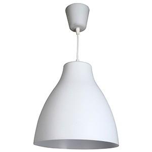 Griestu lampa-BIZEN 60W E27 balta