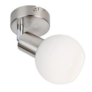 Spotlampa -LOXY 3W LED mat.niķeļa