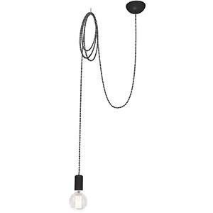 Griestu lampa-SPIDER 60W E27 pelēka
