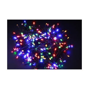 80 LED diožu virtene 4m krāsaina