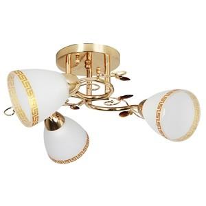 Griestu lampa-ADINA 3x40W E14 zelta