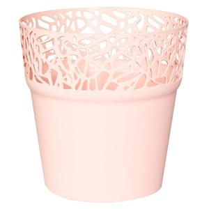 Puķu pods Naturo 12xh12.2cm rozā