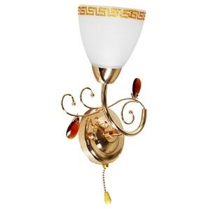 Sienas lampa-ADINA 40W E14 zelta