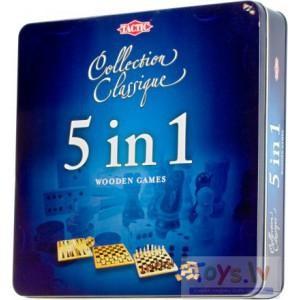 Tactic Piecas spēles vienā dāvanu kastē