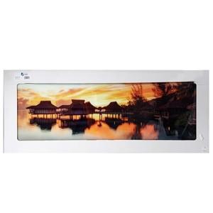 Stikla fotoglezna HAUSER AUF SEE 50x125cm