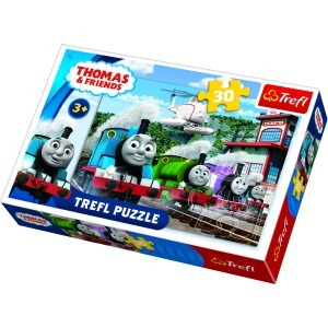 "Trefl Puzle ""Vilciens Tomas"", 30 gab."