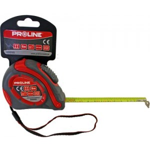 Mērlente   5mx19mm Nylon AutoStop Proline