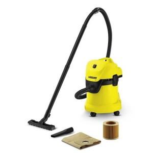 Karcher WD3 - Putekļu sūcējs sausai un slapjai sūkšanai