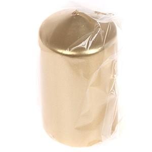 Svece cilindrs 50x85mm zelta