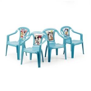Krēsls plastmasas bērniem Disney Mickey mouse