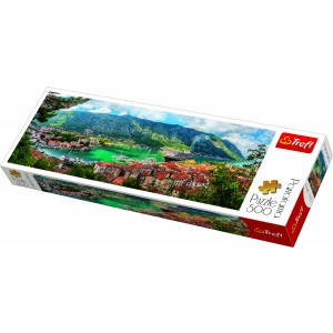 TREFL Puzle 500 Montenegro panorāma