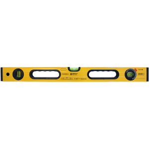 Līmeņrādis Mega pastipr.korpuss 1200mm 3indik. 1mm/m