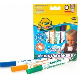 Crayola MiniKids Flomasteri, 8 gb.