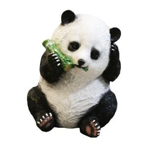 Dārza dekors 35x27x35cm Panda ēdoša