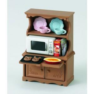 Sylvanian Families  Virtuves iekārta ar plīti