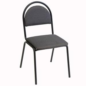 Krēsls SEVEN pelēks ar rūtiņām