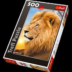 Trefl Daba, puzle Lauva, 500 gb.