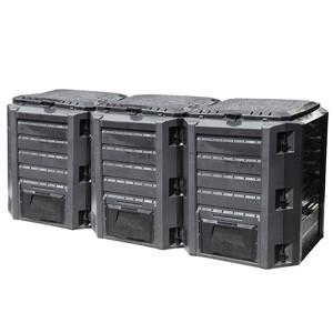 Komposta kaste 1200l melna