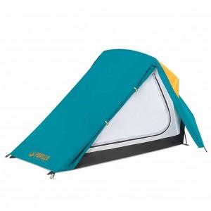 Telts Telts 250x230x95cm zaļa/oranža