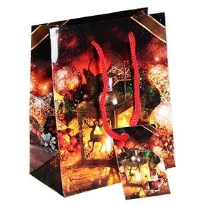 Dāvanu maisiņš Laterna 11x6x13.5cm