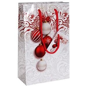 Dāvanu maisiņš Ziemassvētku 12x6x19cm