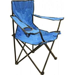 Krēsls kempinga 50x50x80cm zils