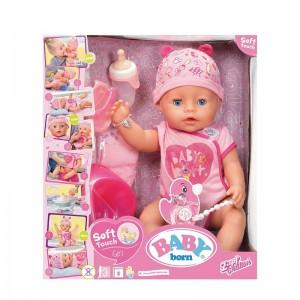 ZAPF Baby Born Soft Touch Interaktīva lelle