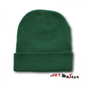 Cepure silta kokvilna zaļa