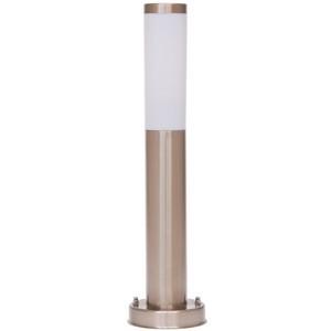 Āra apgaismojuma lampa H=0,8m 60W E27 IP44 hroma