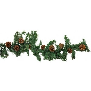 Ziemassvētku egles zars, plastmasas, 270cm, 190T