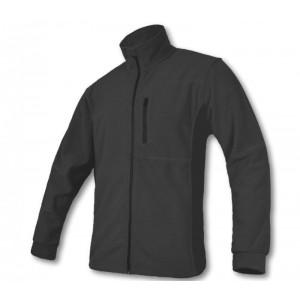 Flīsa jaka ar ravejsledzēju pelēka. XXL izmērs