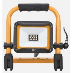 Prožektors LED 100W IP65 uz zemā statīva, melns