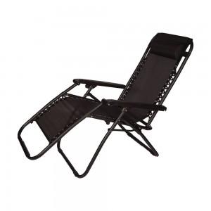 Guļamkrēsls, pelēks 168x65x108cm