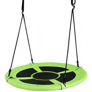 Bērnu šūpoles, zaļas d100cm