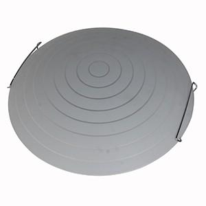 Plafonlampa-2x60W E27 d40cm balta