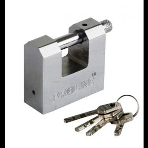 Piekaramā slēdzene Proline stieņu 80mm 4 atslēgas