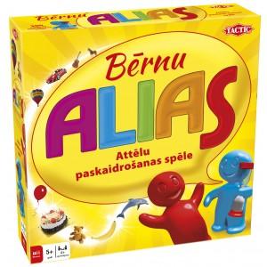 TACTIC Spēle Alias Bērnu Juniors, latviešu val.